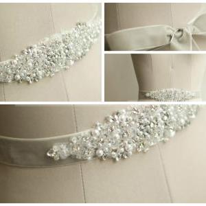 Handmade Wedding Sash/Belt, Bridal ..